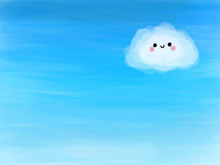Kawaii Cloud By Eerieyuki On Deviantart
