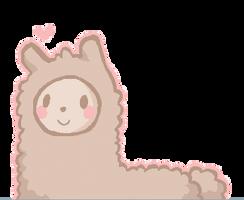 Fuzzy Alpaca by paperdoll-xx
