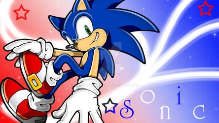 Sonic the Hedgehog :: Wallpaper :3