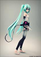 TDA Vocaloid Hatsune Miku Append by ElyStrife