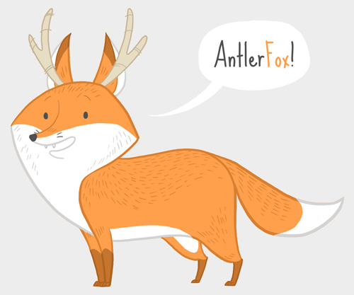 Antlerfox by StaceyRobson