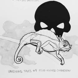 INKTOBER- Undying Tales #9 -Chamelon