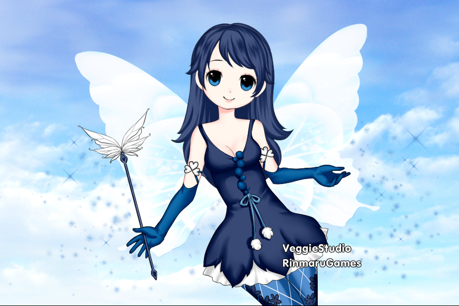Winter Fairy Krustacia by vampiregirl123456
