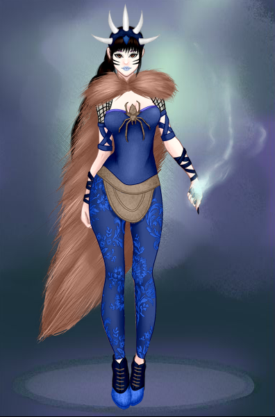 Dark Mage Elsa by vampiregirl123456