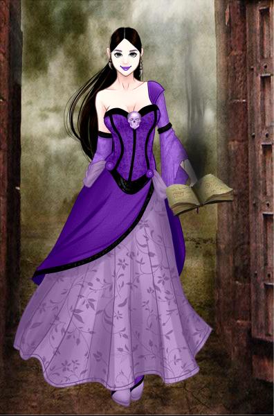 Dark Mage Lucy by vampiregirl123456