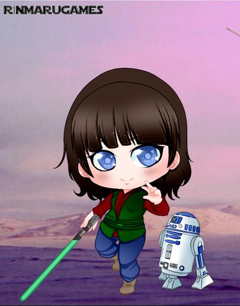 Chibi Star Wars by vampiregirl123456