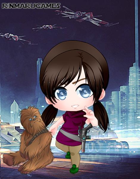 Chibi Star Wars 3 by vampiregirl123456