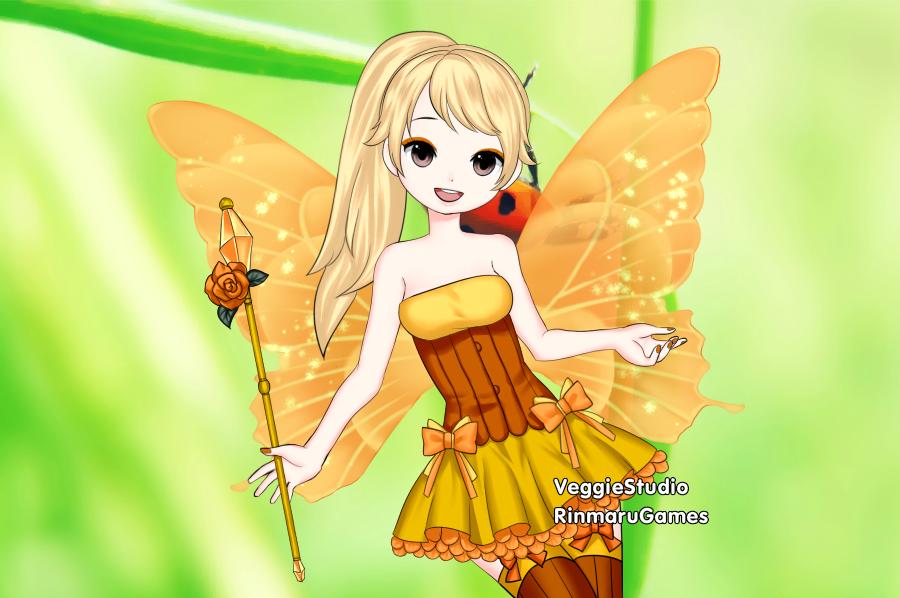 Light Fairy Bailey by vampiregirl123456