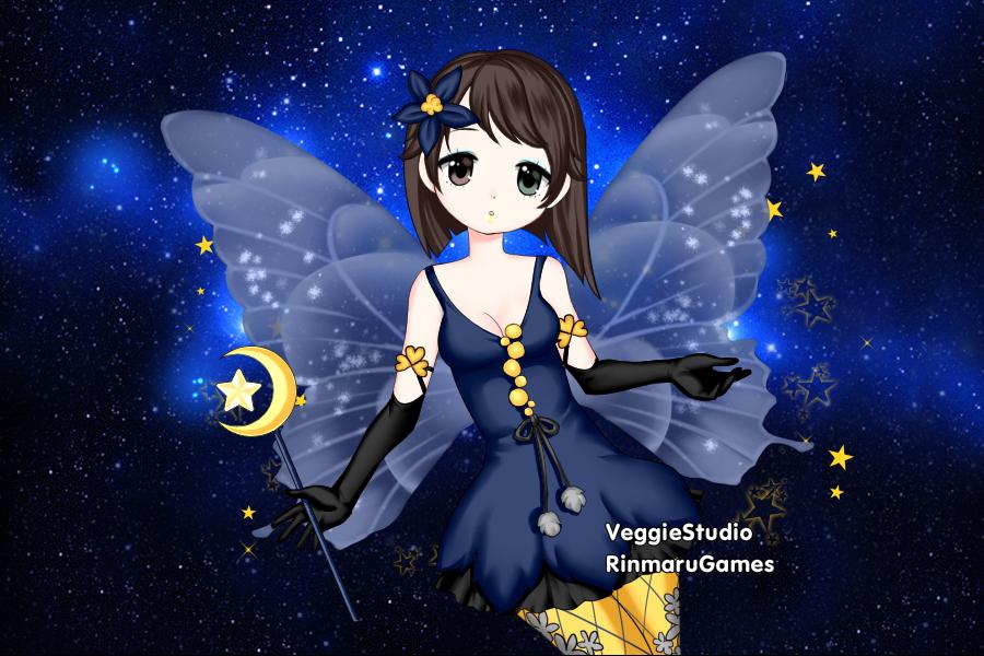 Night Fairy Alexis by vampiregirl123456