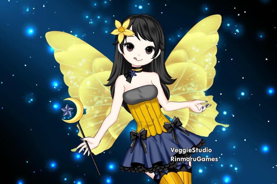 Night Fairy Mika by vampiregirl123456