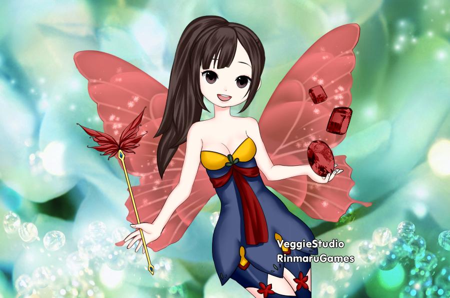Crystal Fairy Hannah by vampiregirl123456