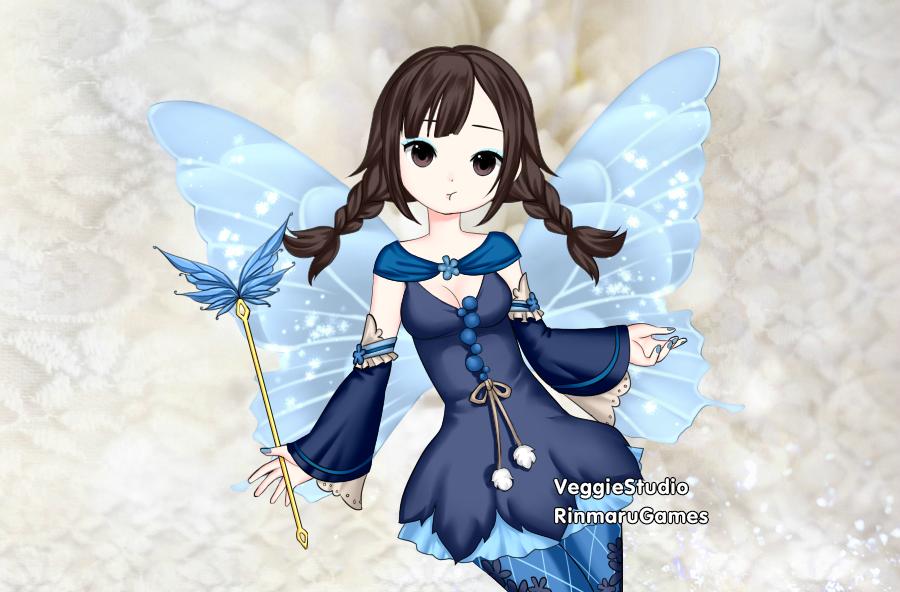 Winter Fairy Elsa by vampiregirl123456