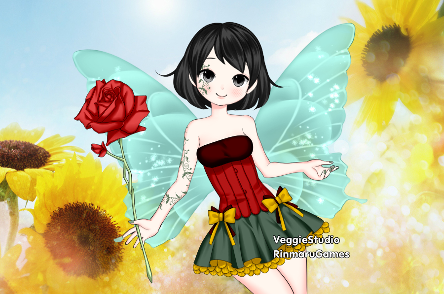 Flower Fairy Hayden by vampiregirl123456