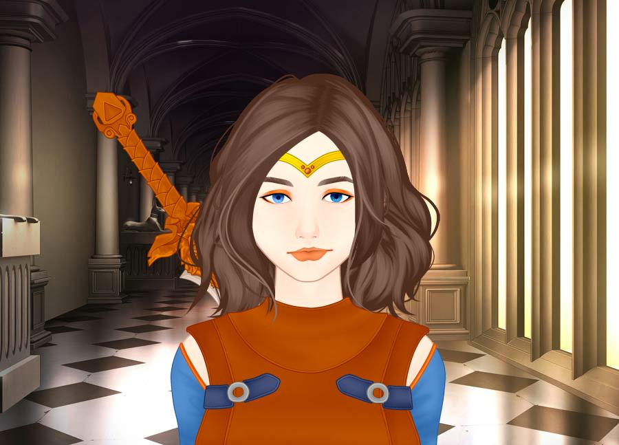 Warrior Princess by vampiregirl123456