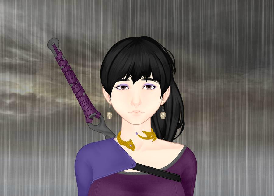 In The Rain by vampiregirl123456