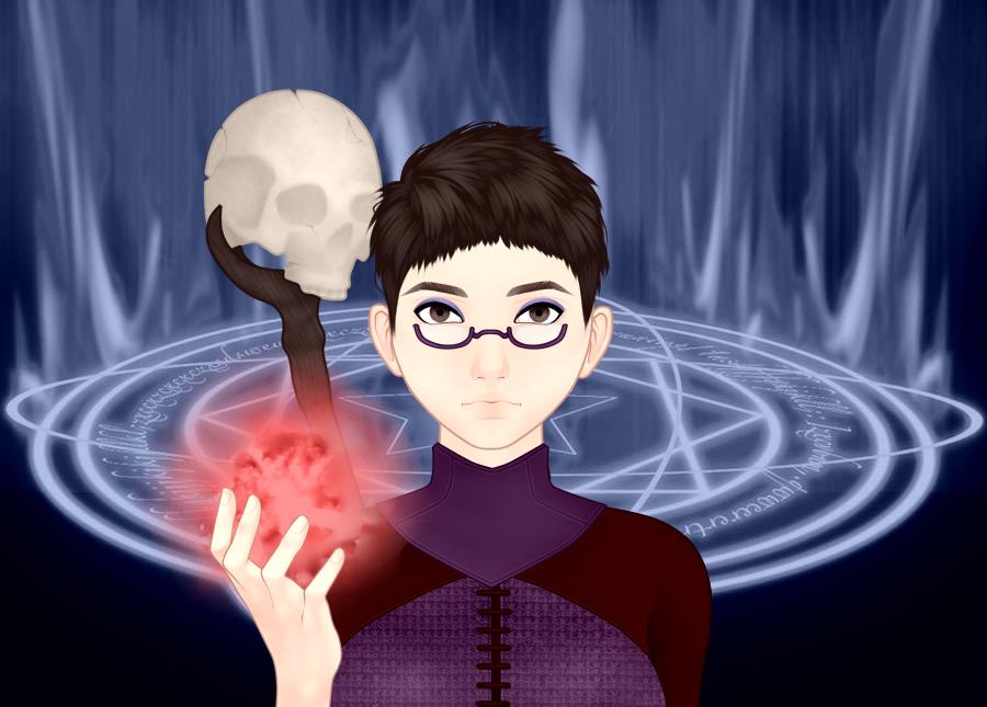 The Necromancer by vampiregirl123456