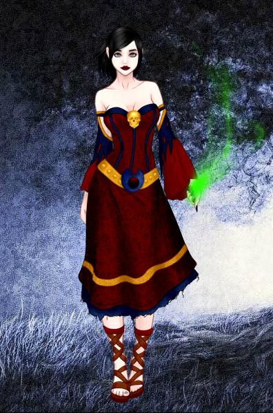 Dark Mage Hayden by vampiregirl123456