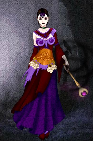 Dark Mage by vampiregirl123456