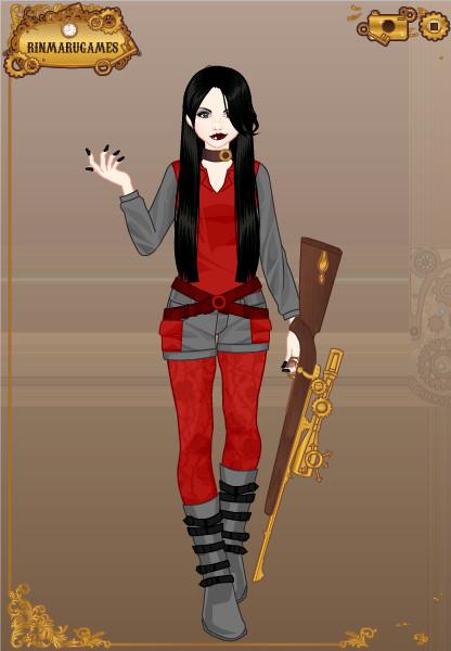 Steampunk Miyumi by vampiregirl123456