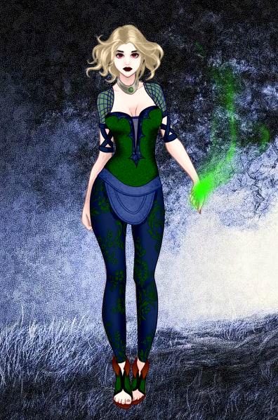 Dark Mage Benny by vampiregirl123456