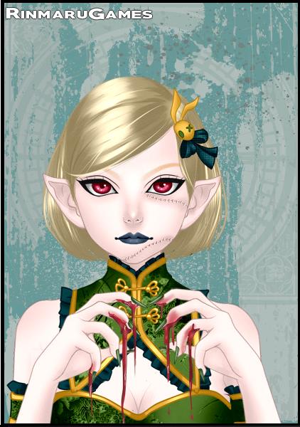 Spooky Doll Benny by vampiregirl123456