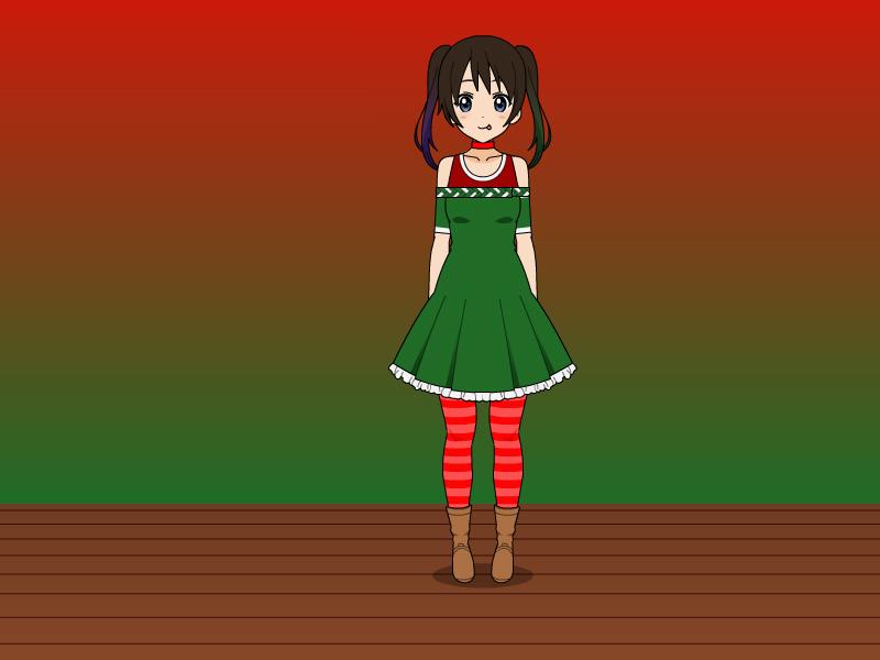 Aubrey's Holiday Outfit by vampiregirl123456