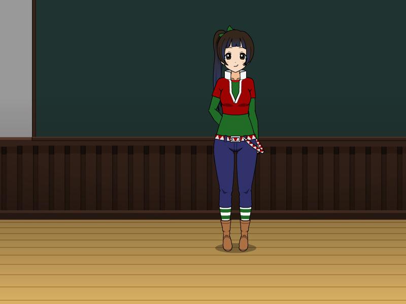 Hannah's Holiday Outfit by vampiregirl123456