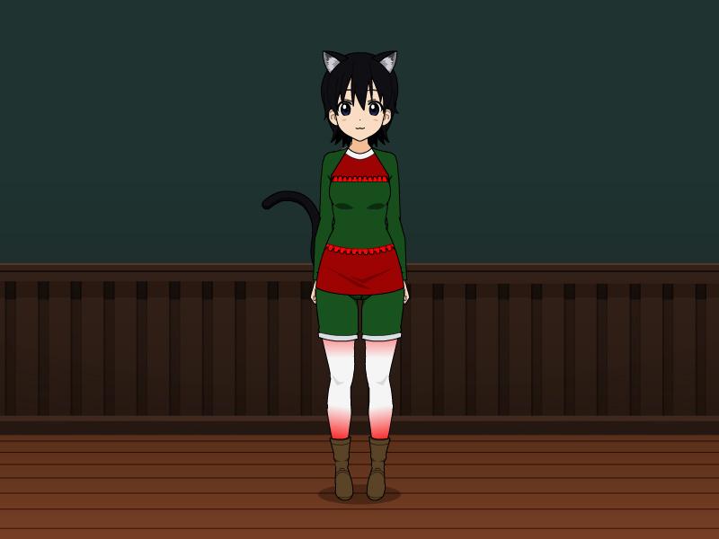 Kiri's Holiday Outfit by vampiregirl123456