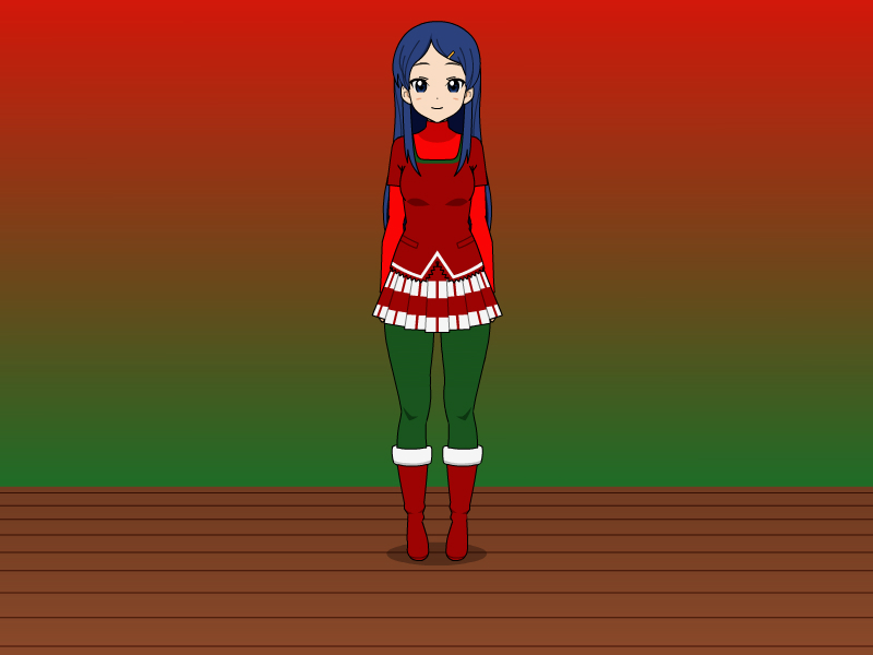 Krustacia's Holiday Outfit by vampiregirl123456