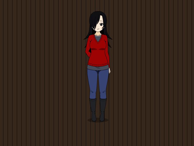 Miyumi's Winter Outfit by vampiregirl123456