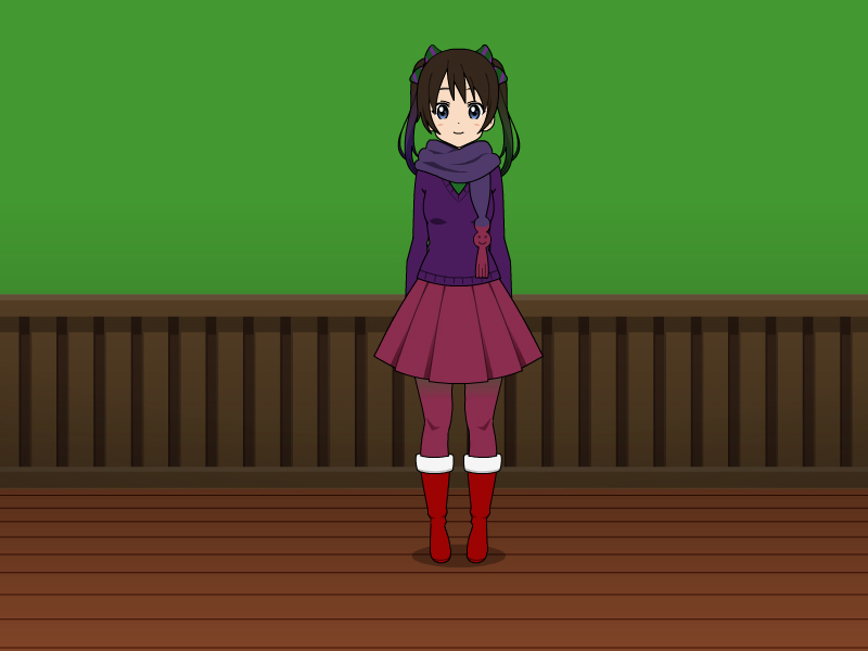 Aubrey's Winter Outfit by vampiregirl123456