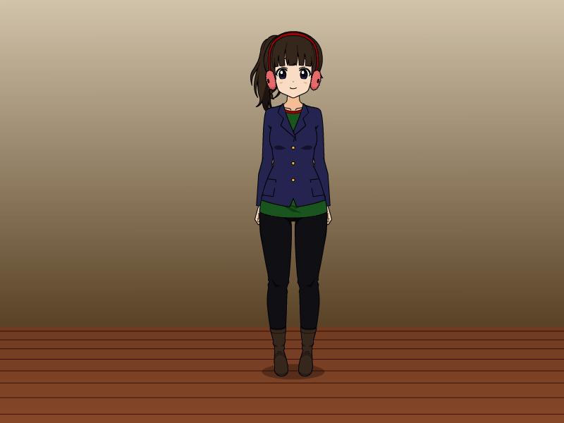 Rania's Winter Outfit V2 by vampiregirl123456