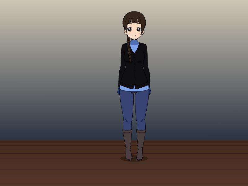 Elsa's Winter Outfit by vampiregirl123456