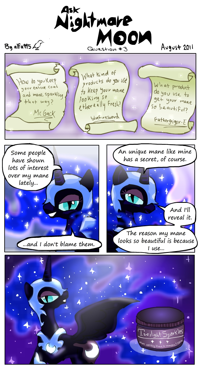 Ask Nightmare Moon 3 by alfa995