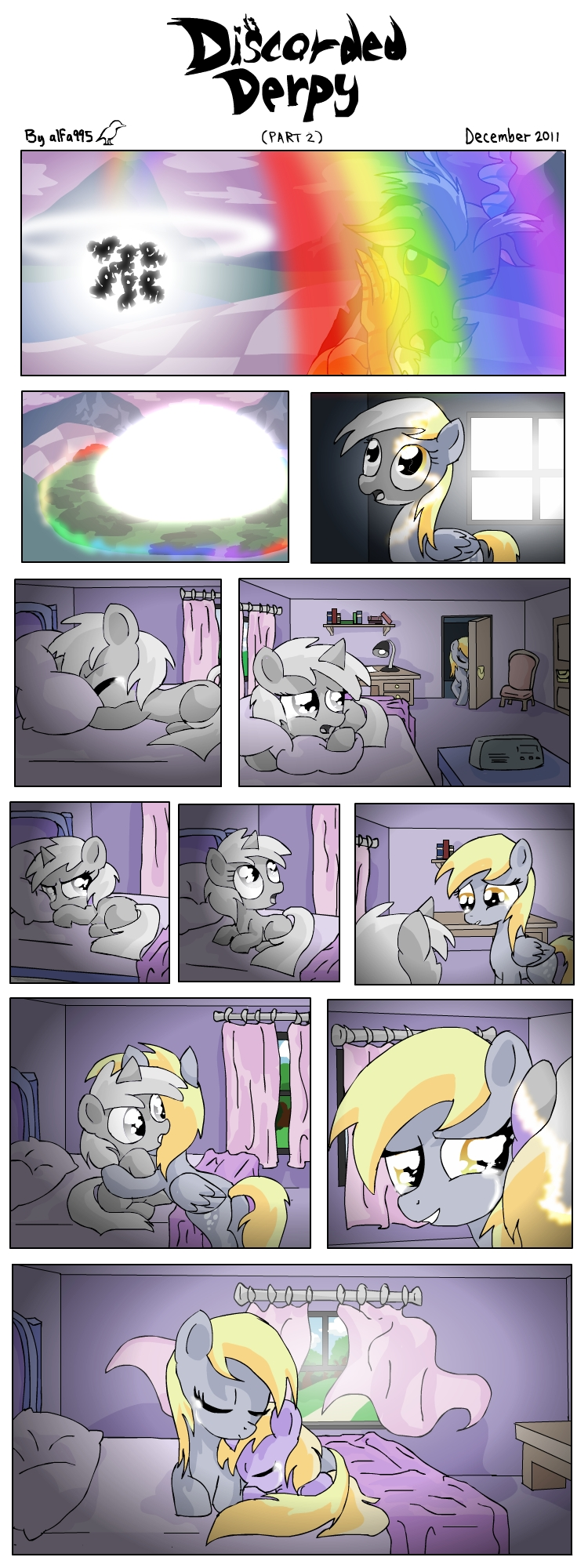 Discorded Derpy - part 2 by alfa995