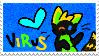 Viruss Stamp by Deadly-Meow