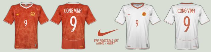 Nike Vietnam Football Kit