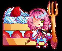 - Chibi Yuu Cake -