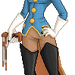 Captain Amelia by aerieyena