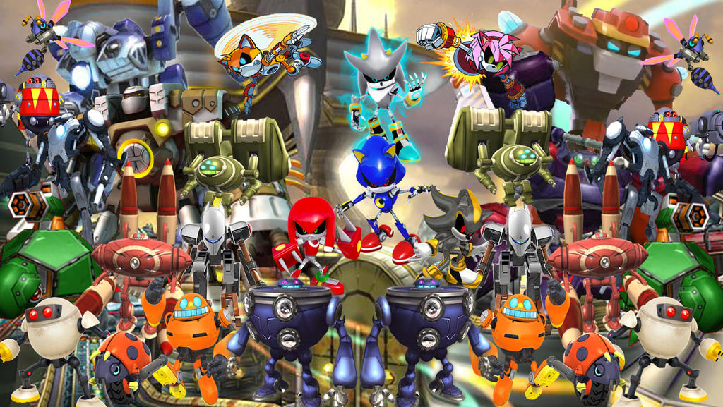 E Series Robots In Sonic The Hedgehog Eggman Empire Minecraft Collection