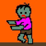 No.0012 Zombie Walker by ZombieMonsterArt