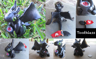 HTTYD Clay Toothless