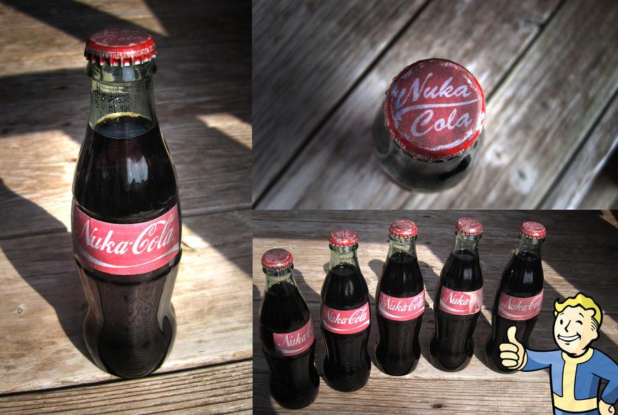 Nuka-Cola Bottle Drink by PunkTrunk