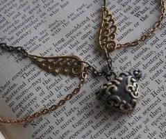 Steampunk Bronze Heart Locket by PunkTrunk