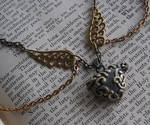 Steampunk Bronze Heart Locket