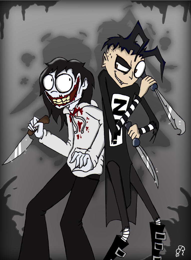 Jeff The Killer Screamer Gif Johnny and jeff by piddies0709