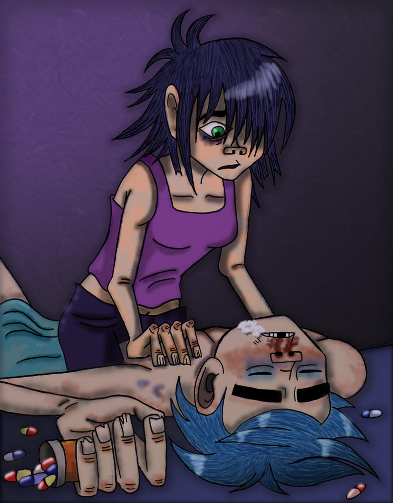 murdoc and 2d relationship help