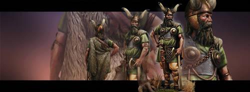 Bronze Warlord by Yerahmeel