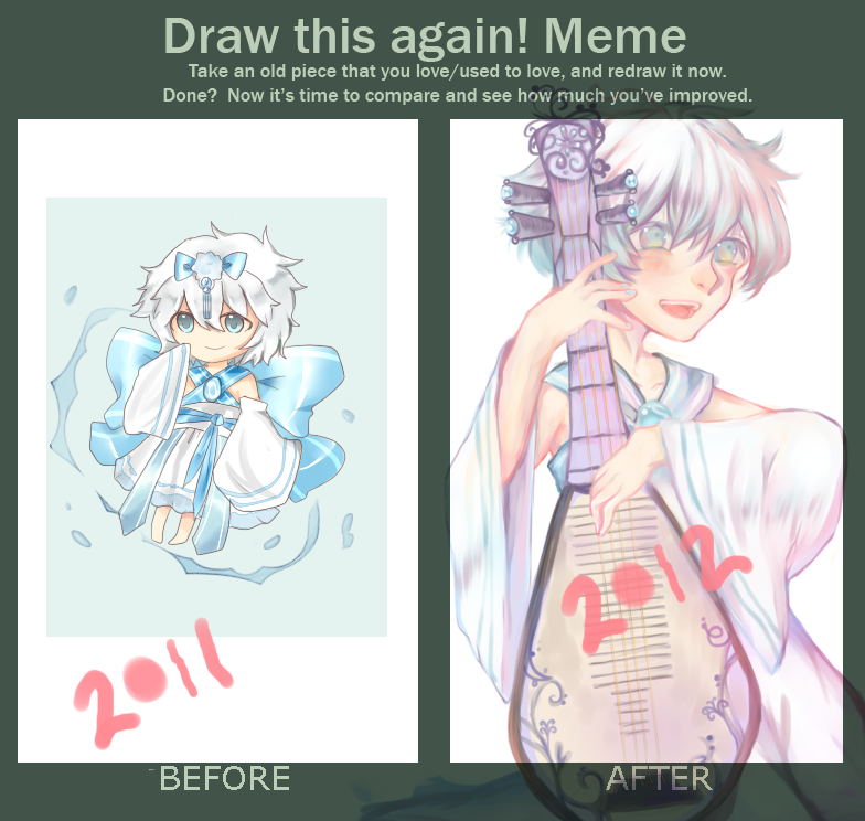 Draw this Again Meme by yune-d