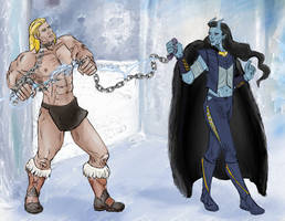 Jotun Loki has a prisoner...but not for long